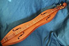 Applecreek Traditional Hourglass Dulcimer, Solid Cherry Back and Sides, with Bag