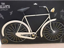 **CREAM BICYCLE**3D metal wall art plaque CASH and COLLECTION only