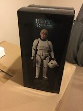 Sideshow Hot Toys SDCC Exclusive Han And Luke Figure Set Stormtroopers Disguise
