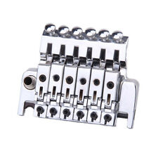 A Set of Chrome Plated Double Locking Floyd Rose Tremolo System