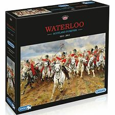 GIBSONS BATTLE OF WATERLOO SCOTLAND FOREVER 1815-2015 - 1000 PIECE JIGSAW PUZZLE