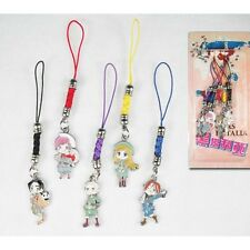 Set 5 Strap / Phonestrap Axis Powers Hetalia