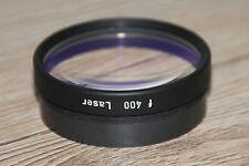 Zeiss OP Mikroskop Microscope OPMI Objektiv f 400 Laser