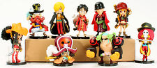 One Piece The New world Z Luffy Nami Sanji Choppe Zoro Usopp Toy Figures New