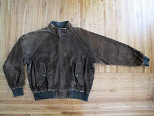VTG Polo Ralph Lauren Brown Corduroy Jacket sz XL bomber members only gap