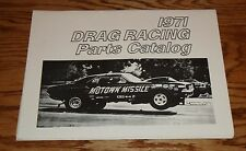 1971 Chrysler Drag Racing Parts Catalog 71