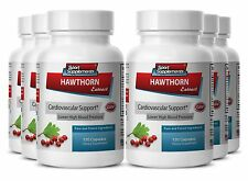 Liver Cleanse Capsules - Hawthorn Extract 665mg - Cayenne Powder 6B