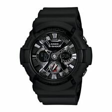 Mens G-Shock Alarm Water Resistant Casio GA201-1A Chronograph Analogue Watch New