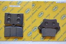 FRONT&REAR BRAKE PADS for KTM 97-99 Sting 125,94-98 Duke 400 620,03-04 SMC 660