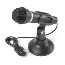 3.5mm Stereo Studio Speech Microphone Mic Stand Mount For PC Laptop Computer