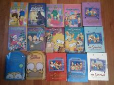 The Simpsons Seasons 1-9 1 2 3 4 5 6 7 8 9 & Christmas Bart Wars Kiss Tell Wild