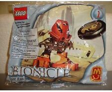 Lego HUKI Matoran #1388 McDonald's Promo #1 with Disc~ BIONICLE, NEW