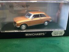 WOW EXTREMELY RARE MINICHAMPS 1/43 1st EDITION 1972 PEUGEOT 304 COUPE SUPERB NLA