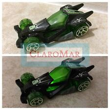 ☀️ Hot Wheels Light Up Race Car 2005 Toy Cake Topper Die Cast Black Green