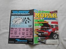 MOPAR MUSCLE--NOVEMBER,1992--MAGAZINE