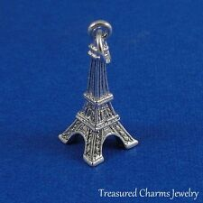 Silver EIFFEL TOWER Paris France Travel CHARM PENDANT