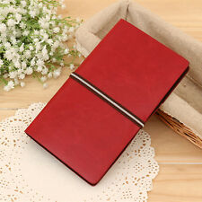 Dark Red  240 Cards Office Leather Business Name Credit Card  Holder Book File