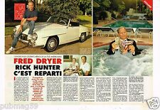 Coupure de Presse Clipping 1995 (2 pages 1/2) Fred Dryer Rick Hunter