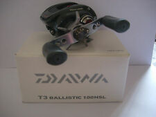 Daiwa T3 ballistic T3BLS100HSL lefty low profile baitcaster reel 7.0: 1
