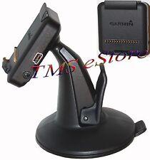 Genuine OEM Garmin Dezl 760LMT Cradle/Bracket/Clip/Holder and Suction Cup Mount