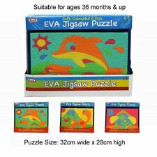 A to Z EVA Jigsaw Learning Puzzle Children Kids Child Toddler Bath Time Use Toy