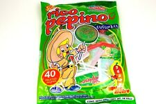 Alteno Super Rico Pepino paleta (cucumber lollipop with chilli) 40-pcs