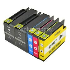 5 Cartucce per HP 932 XL 933xl con Chip Officejet 6100 6600 6700 7110 7610 7612