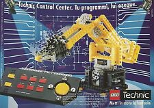 X0305 LEGO - Technic Control Center - Pubblicità del 1992 - Vintage advertising