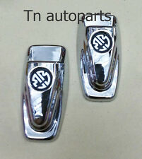 CHROME WASHER JET COVER TOYOTA HILUX MK6 MK7 SR5 WORKMATE UTE VIGO FORTUNER 2PC