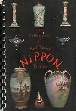 Hand Painted Japanese Nippon Porcelain - Patterns Marks / Book + Values