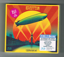 LED ZEPPELIN - CELEBRATION DAY - 2 CD + 1 BLU-RAY - 2012 - NEUF NEW NEU