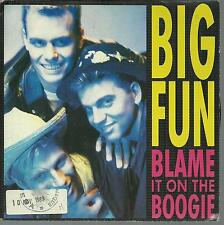 """7"""" 45 TOURS FRANCE BIG FUN """"Blame It On The Boogie"""""""