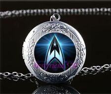 Star Trek Silver coloured Locket Pendant Necklace fr18