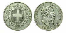 pcc1635_3) Regno Vittorio Emanuele II lire 5 scudo 1877