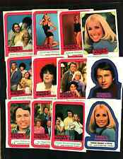 1978 Threes Company Complete set nm to mint 44 Stickers & Cards