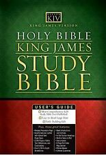 Holy Bible King James Study Bible - Personal Size, Thomas Nelson, Good Book