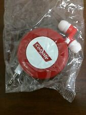 Colgate In Ear Retractable Headphones BRAND NEW SEALED