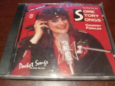 POCKET SONGS KARAOKE DISC PSCD1117 SOME STORY SONGS COUNTRY FEMALES CD MULTIPLEX