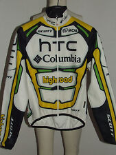 MAGLIA BICI GIACCA JACKET CICLISMO SHIRT SPORT MANTOTEX TEAM HTC COLUMBIA tg. S