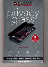 ZAGG Privacy Glass InvisibleShield iPhone 6, 6s (4.7) IP6GPC w/Warranty