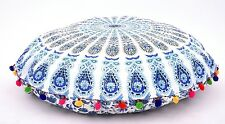 Large Round Mandala Meditation Floor Pillows Indian Tapestry Bohemian Pouf Throw