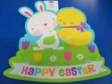 Happy Easter Bunny Chick Spring Holiday Party Wall Decoration Paper Cutout