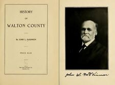 WALTON County, Florida FL, People, History and Genealogy, 1911, DVD CD V99
