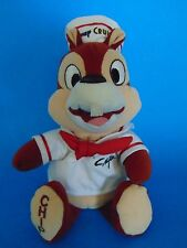 DISNEY Chip Chipmunk Disney Cruise Line BEAN BAG  Plush Sailor Hat & Top