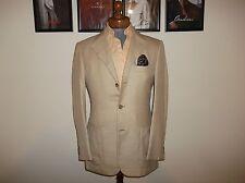 Ermenegildo Zegna NAPOLI COUTURE 38 UK 48EU   51% Silk 49% Cammelo jacket blazer