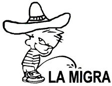 La Migra Decal - Window sticker Car/RV/Truck/ATV/Hunting/Outdoor Vinyl Decal
