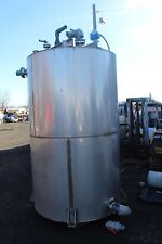 "94"" TALL  65"" DIAMETER  Vertical Stainless Steel Storage  Water Tank WITH LADDER"