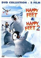 DvD HAPPY FEET / HAPPY FEET 2 (2 Dvd) ......NUOVO