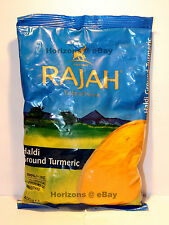 RAJAH Haldi Ground Turmeric 400g (100% Pure No Artificial Colours or Additives)