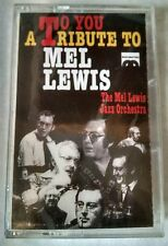 A Tribute to Mel Lewis - The Mel Lewis Jazz Orchestra - Music Cassette Tape